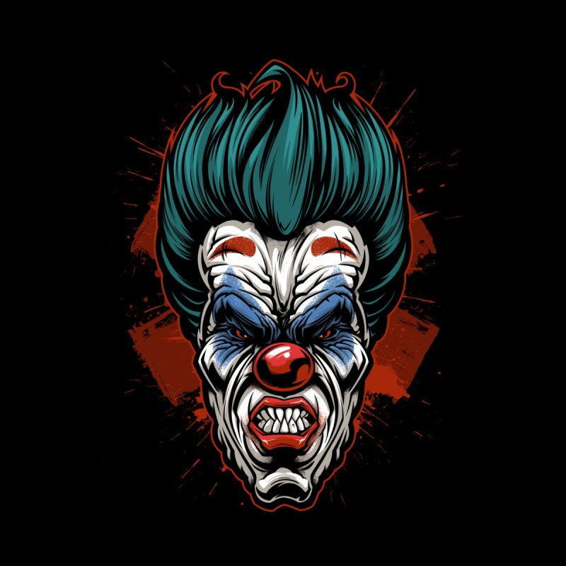 it ends Clown Men's V-Neck by fishark's Artist Shop