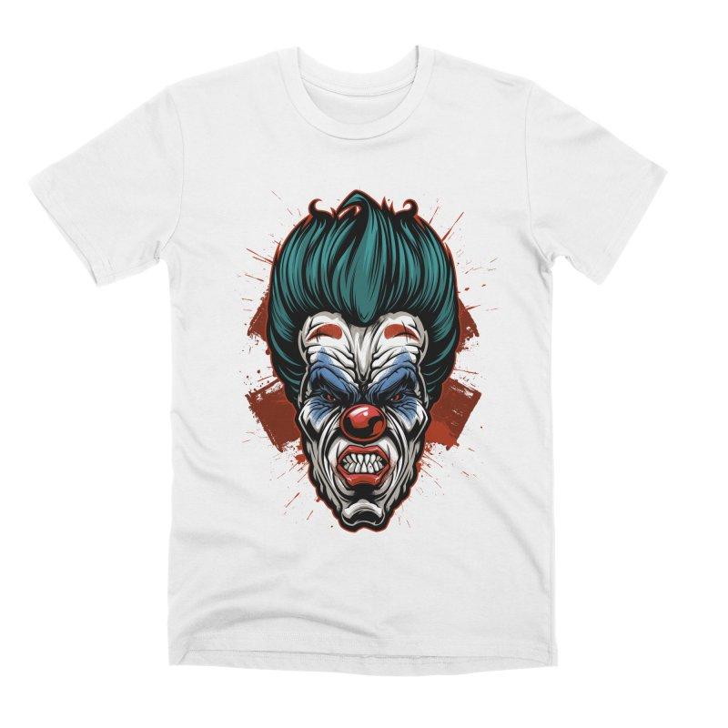 it ends Clown Men's T-Shirt by fishark's Artist Shop