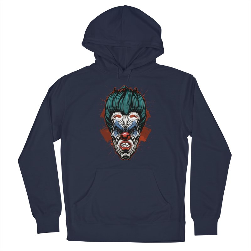 it ends Clown Men's Pullover Hoody by fishark's Artist Shop