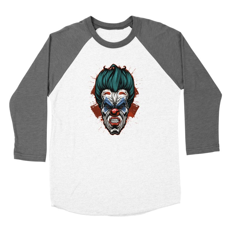 it ends Clown Women's Longsleeve T-Shirt by fishark's Artist Shop