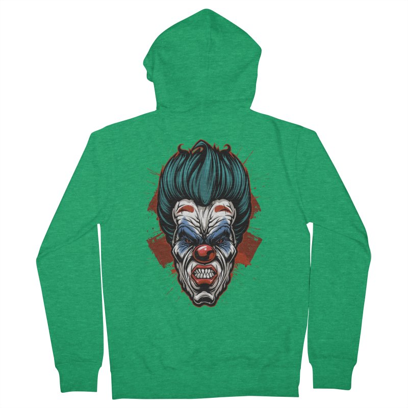 it ends Clown Women's Zip-Up Hoody by fishark's Artist Shop