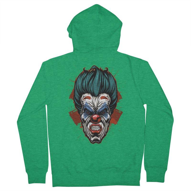 it ends Clown Men's Zip-Up Hoody by fishark's Artist Shop