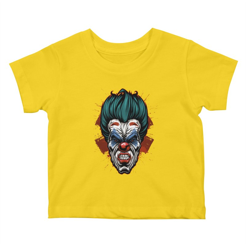 it ends Clown Kids Baby T-Shirt by fishark's Artist Shop