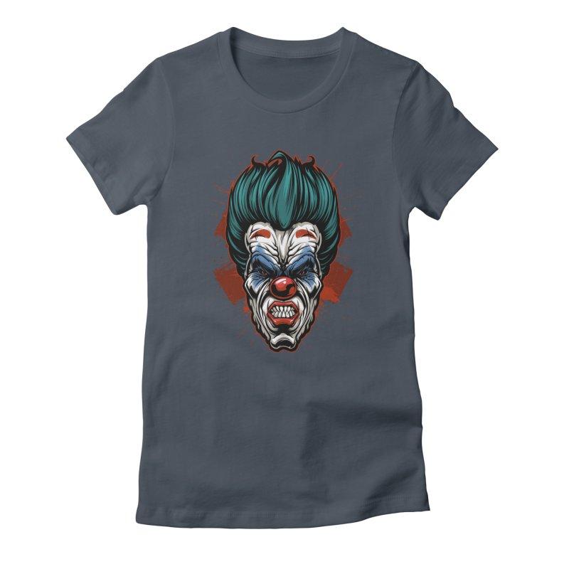 it ends Clown Women's T-Shirt by fishark's Artist Shop