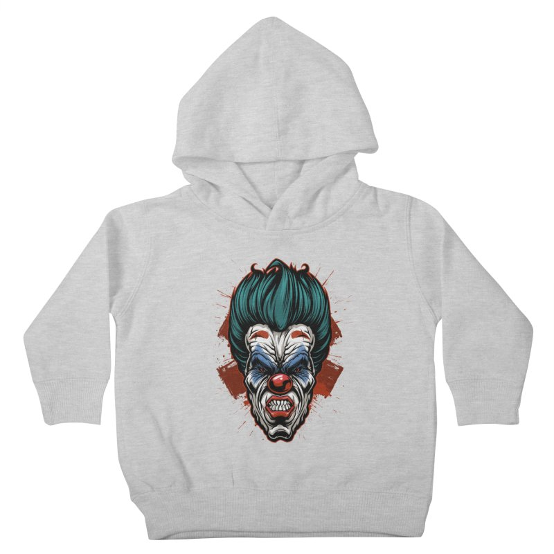 it ends Clown Kids Toddler Pullover Hoody by fishark's Artist Shop