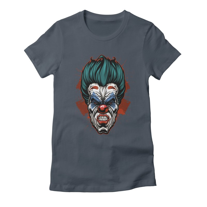 it ends Clown Women's T-Shirt by fishark's Artist Shop