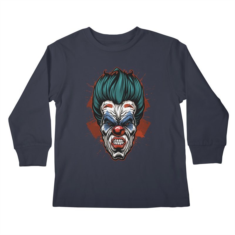 it ends Clown Kids Longsleeve T-Shirt by fishark's Artist Shop