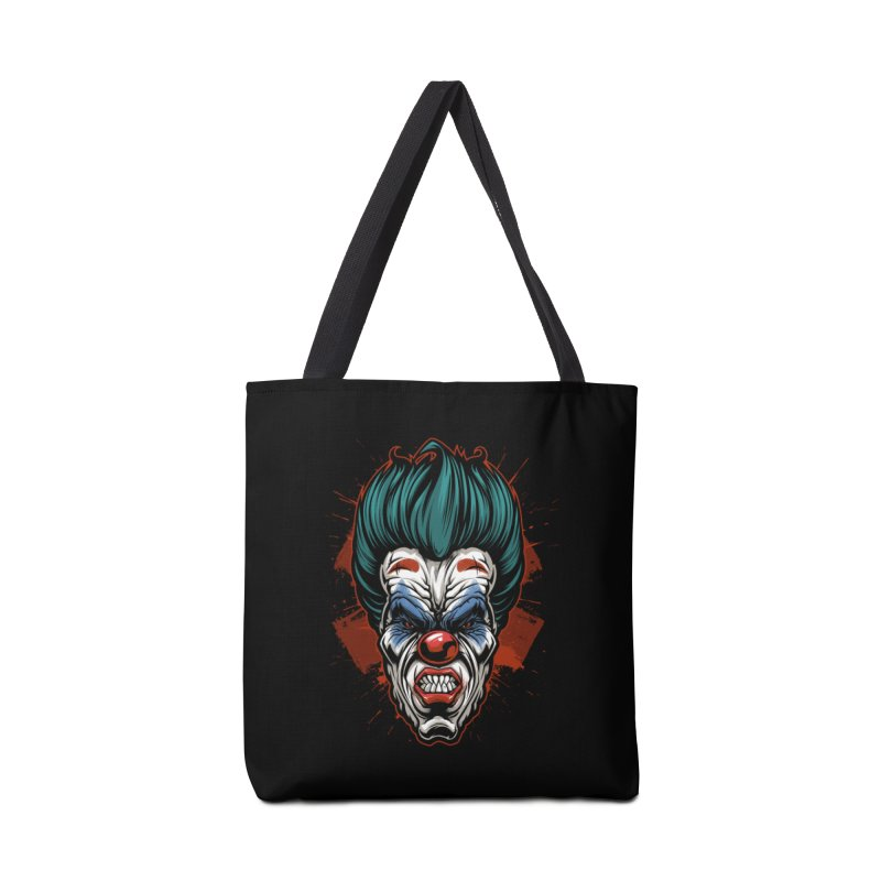 it ends Clown Accessories Bag by fishark's Artist Shop