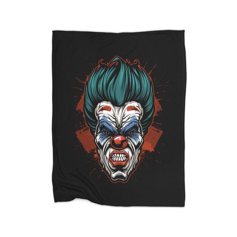 it ends Clown Home Blanket by fishark's Artist Shop
