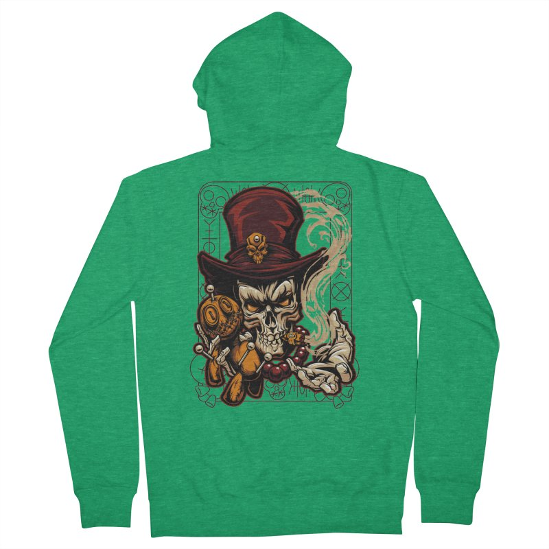 Voodoo Women's Zip-Up Hoody by fishark's Artist Shop