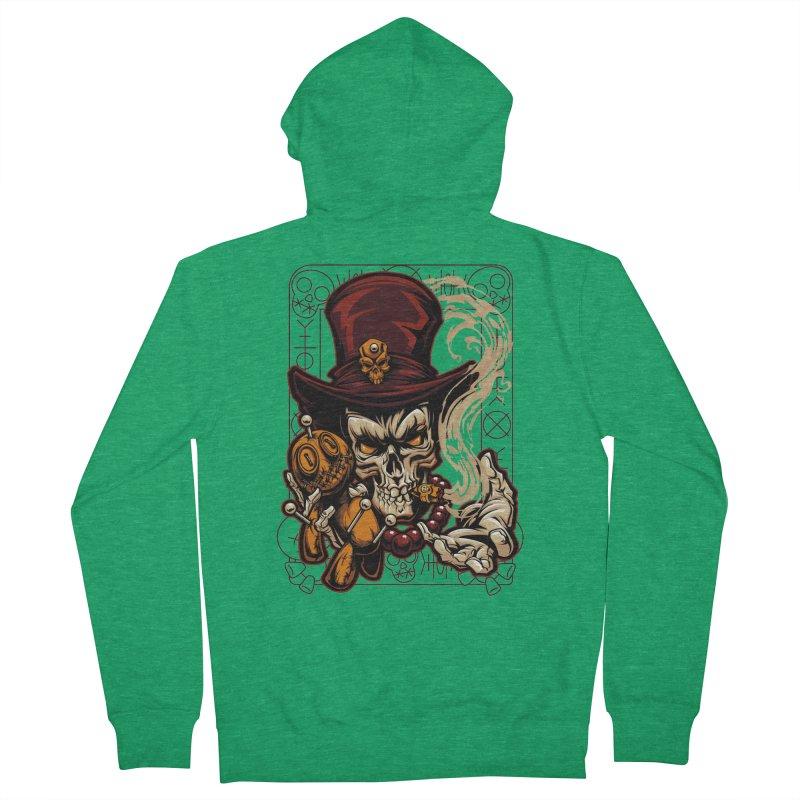 Voodoo Men's Zip-Up Hoody by fishark's Artist Shop