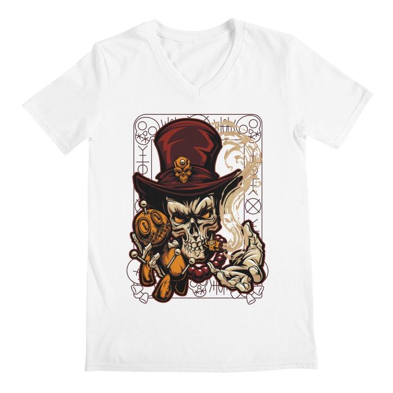 Voodoo Men's V-Neck by fishark's Artist Shop