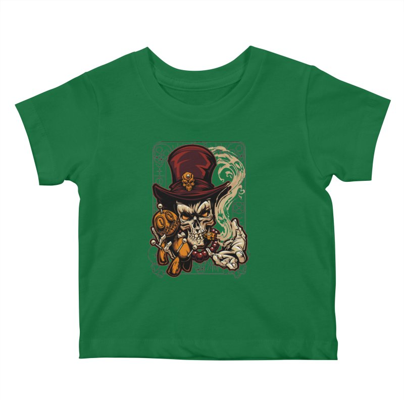 Voodoo Kids Baby T-Shirt by fishark's Artist Shop