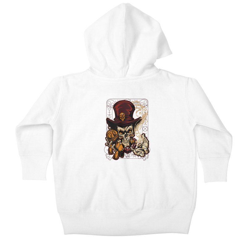 Voodoo Kids Baby Zip-Up Hoody by fishark's Artist Shop