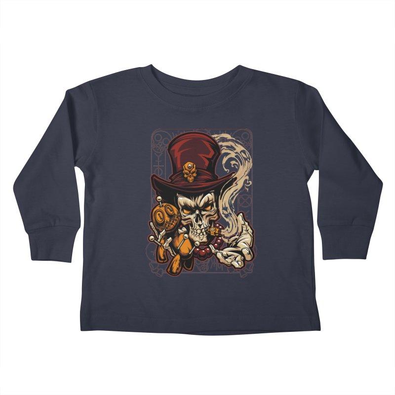 Voodoo Kids Toddler Longsleeve T-Shirt by fishark's Artist Shop