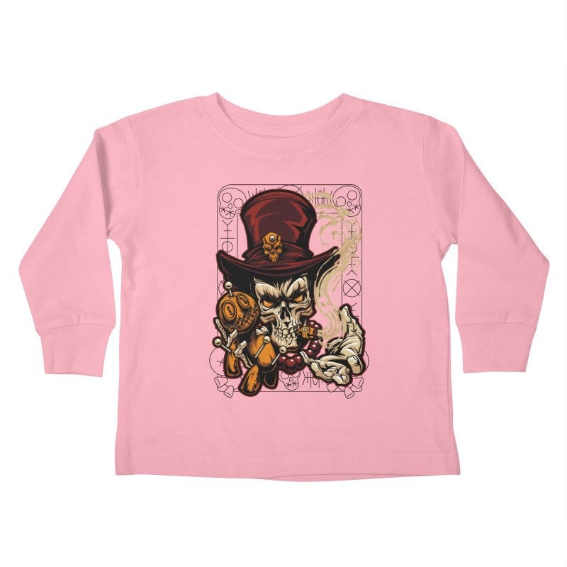 Voodoo Kids Toddler Longsleeve T-Shirt by fishark's Artist Shop