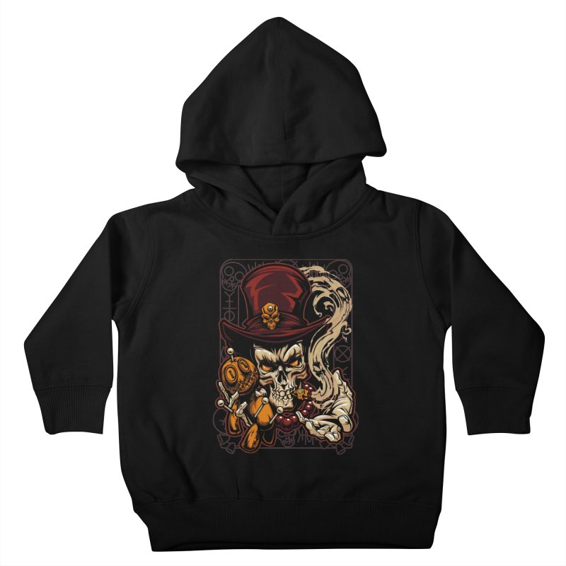 Voodoo Kids Toddler Pullover Hoody by fishark's Artist Shop