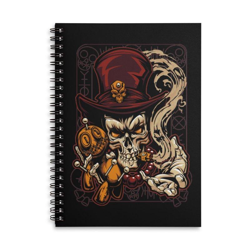 Voodoo Accessories Notebook by fishark's Artist Shop