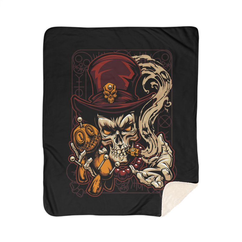 Voodoo Home Blanket by fishark's Artist Shop