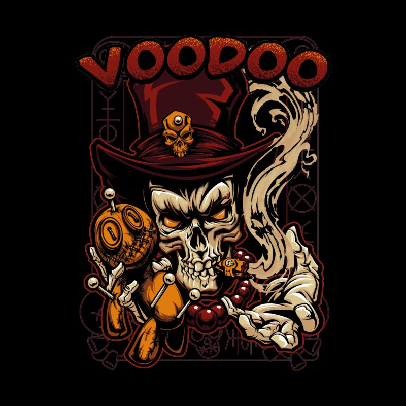 Voodoo Accessories Magnet by fishark's Artist Shop
