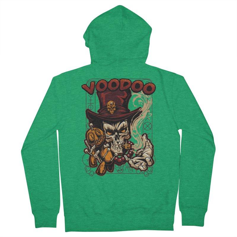 Voodoo Women's Zip-Up Hoody by fishark's Artist Shop