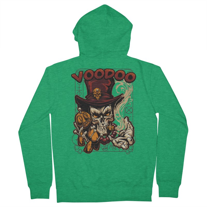 Voodoo Men's Zip-Up Hoody by fishark's Artist Shop