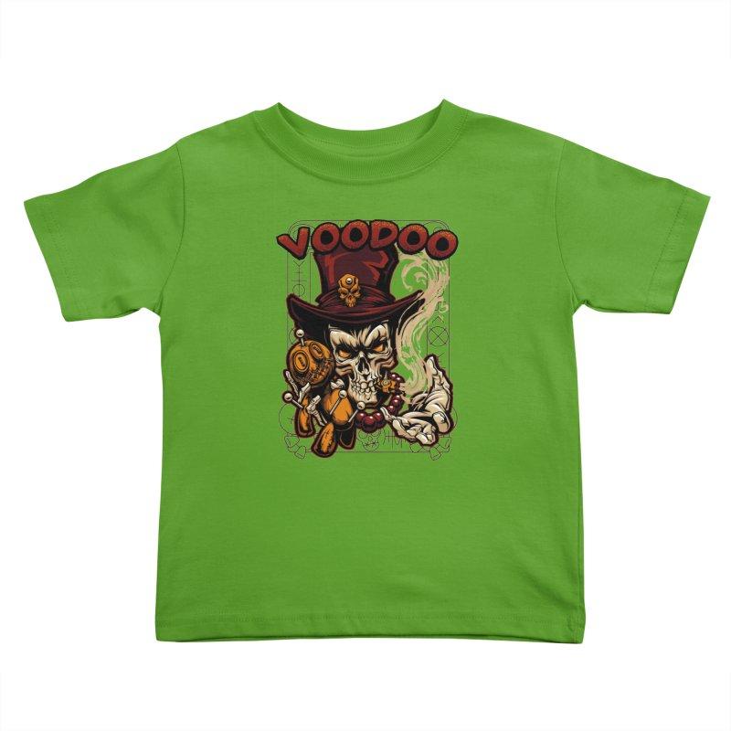 Voodoo Kids Toddler T-Shirt by fishark's Artist Shop