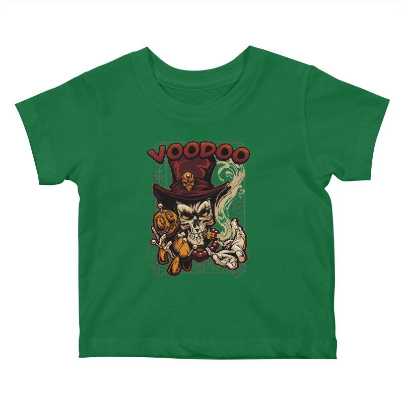 Voodoo Kids Baby T-Shirt by fishark's Artist Shop