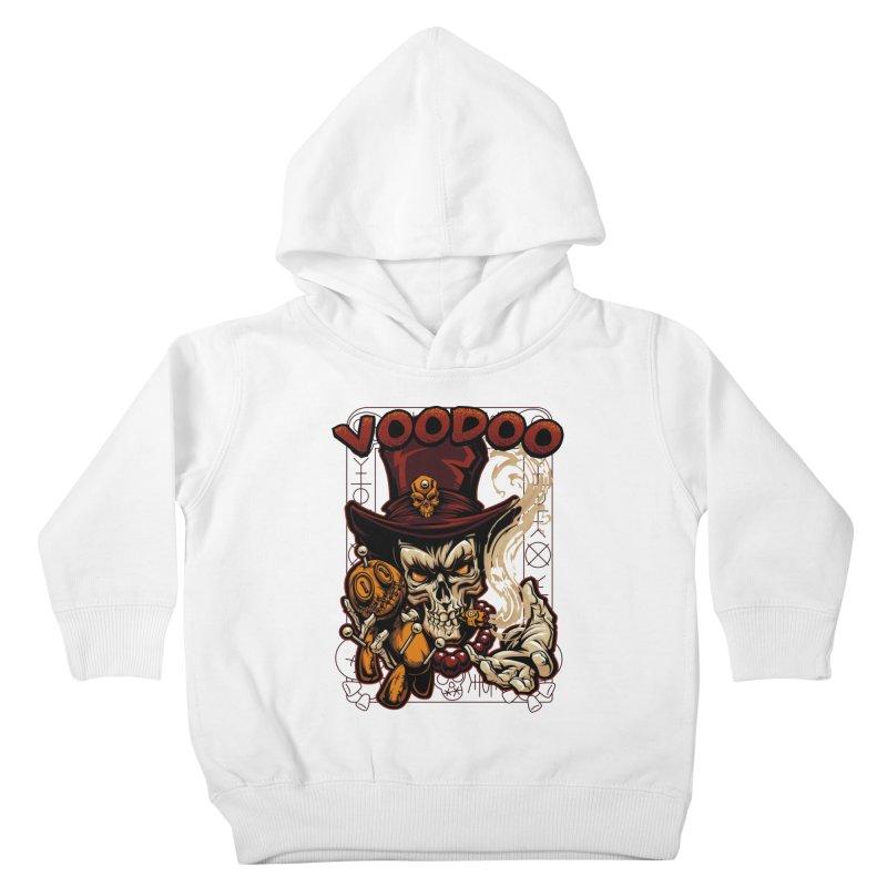Voodoo Kids Toddler Pullover Hoody by fishark's Artist Shop