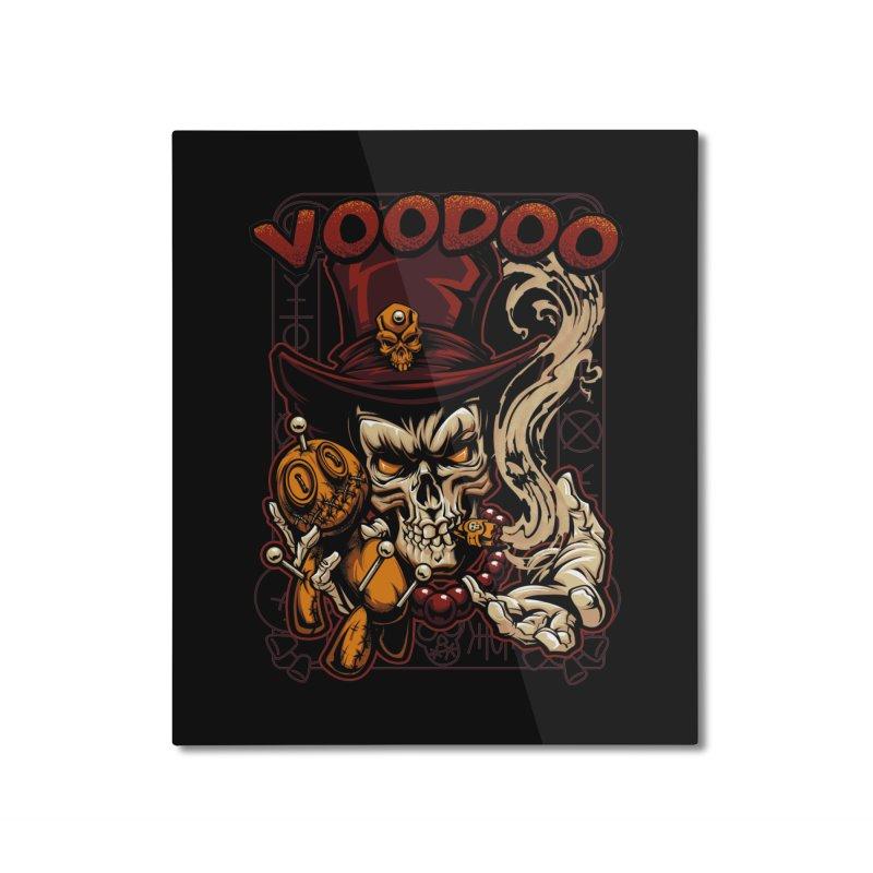 Voodoo Home Mounted Aluminum Print by fishark's Artist Shop