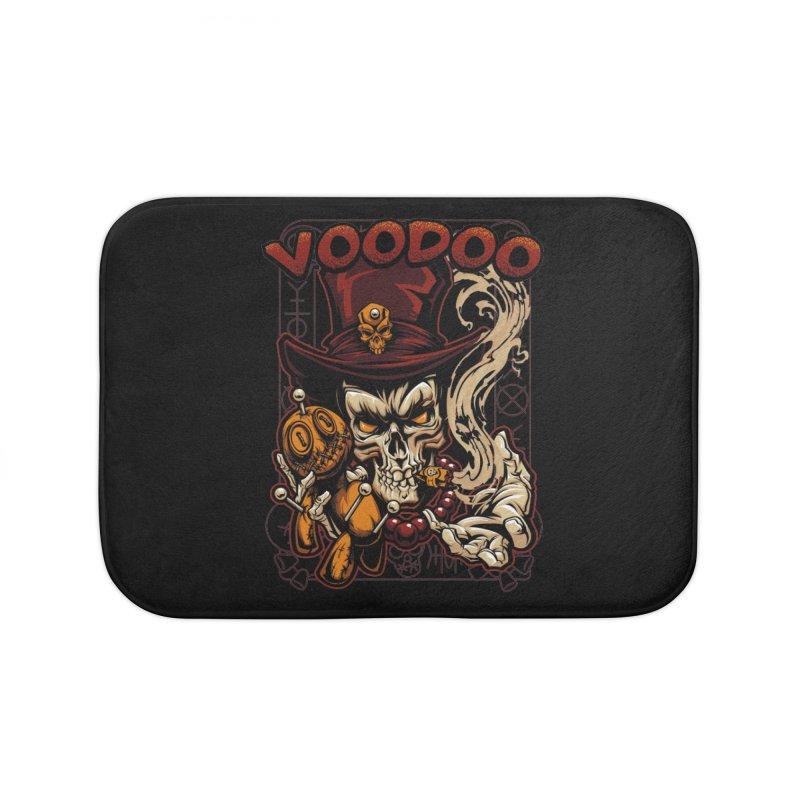 Voodoo Home Bath Mat by fishark's Artist Shop