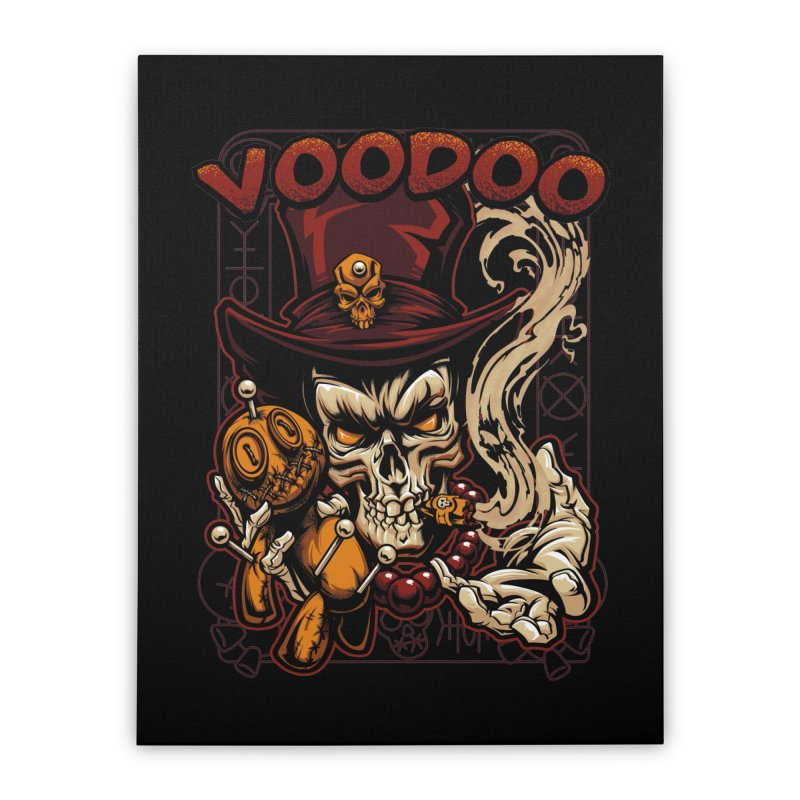 Voodoo Home Stretched Canvas by fishark's Artist Shop