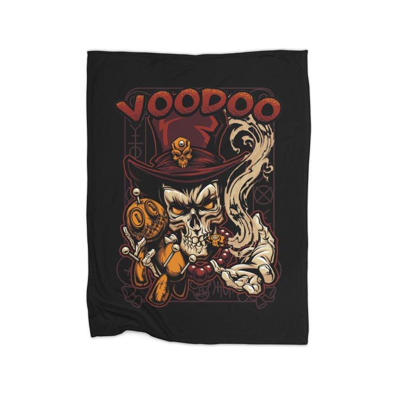 Voodoo Home Blanket by fishark's Artist Shop