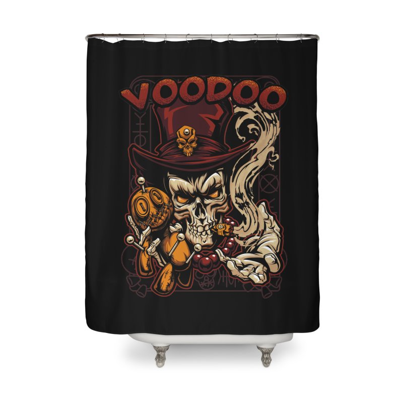 Voodoo Home Shower Curtain by fishark's Artist Shop
