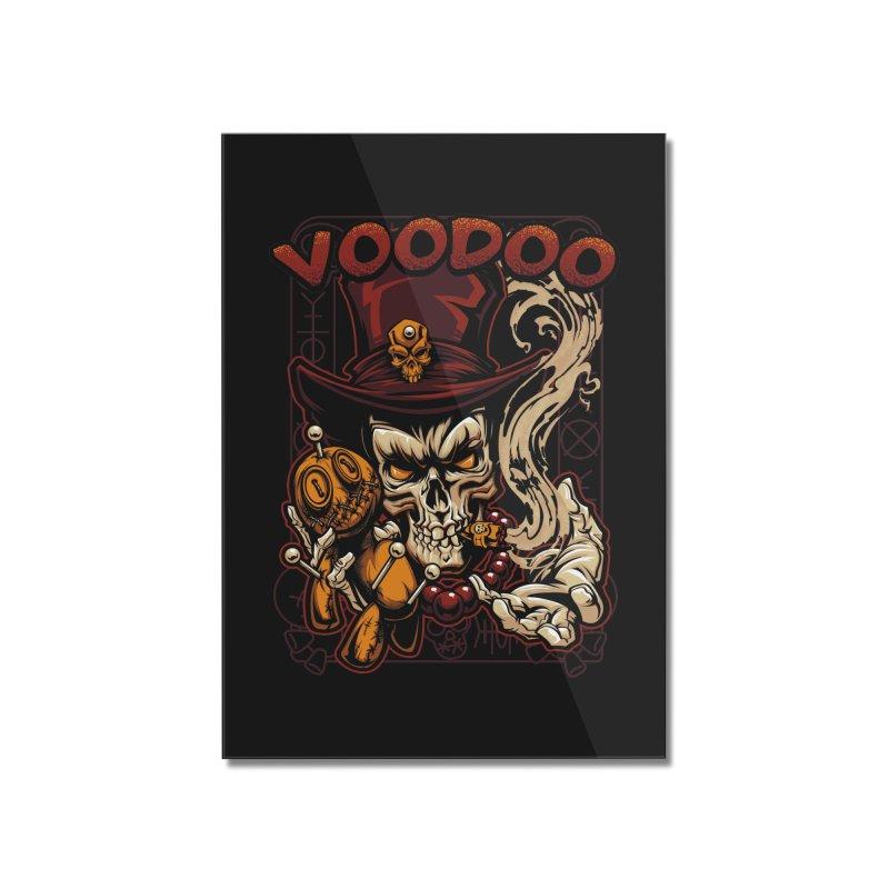 Voodoo Home Mounted Acrylic Print by fishark's Artist Shop