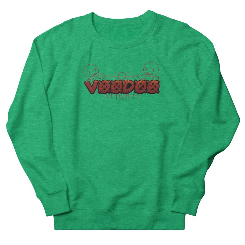 Voodoo Women's Sweatshirt by fishark's Artist Shop