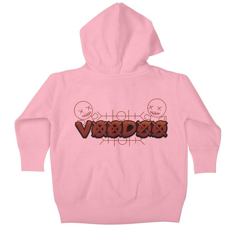 Voodoo Kids Baby Zip-Up Hoody by fishark's Artist Shop