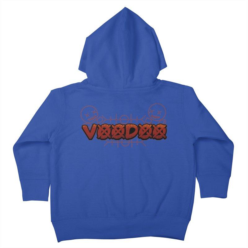 Voodoo Kids Toddler Zip-Up Hoody by fishark's Artist Shop