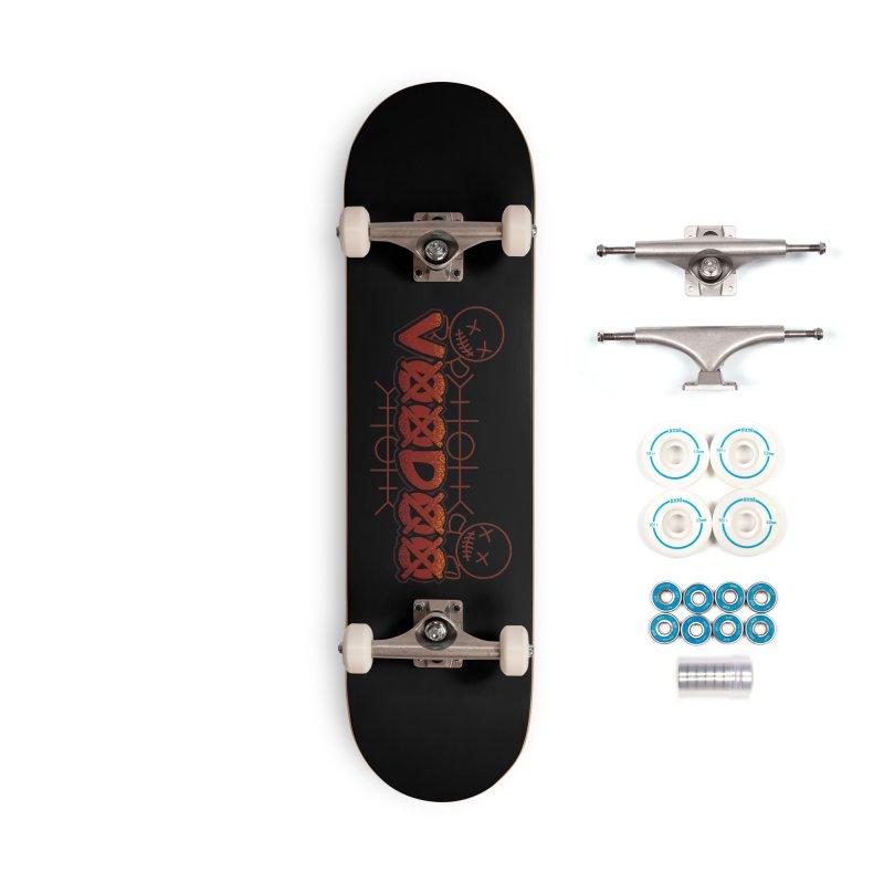 Voodoo Accessories Skateboard by fishark's Artist Shop