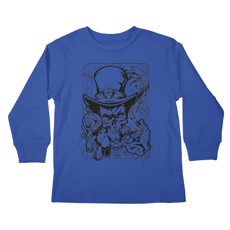 Voodoo Kids Longsleeve T-Shirt by fishark's Artist Shop