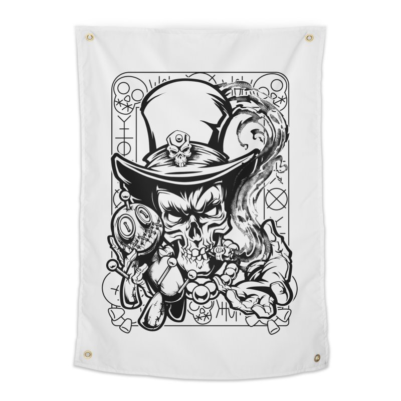 Voodoo Home Tapestry by fishark's Artist Shop