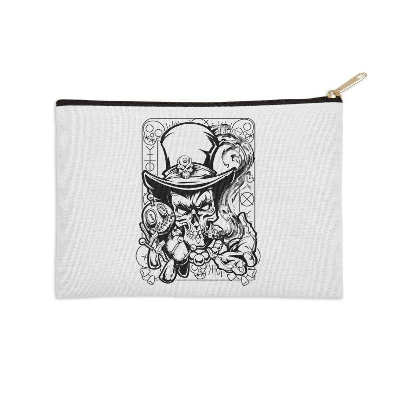 Voodoo Accessories Zip Pouch by fishark's Artist Shop