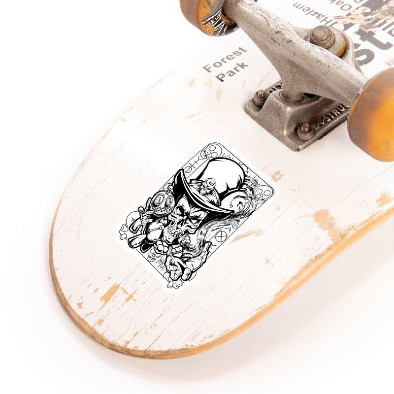 Voodoo Accessories Sticker by fishark's Artist Shop