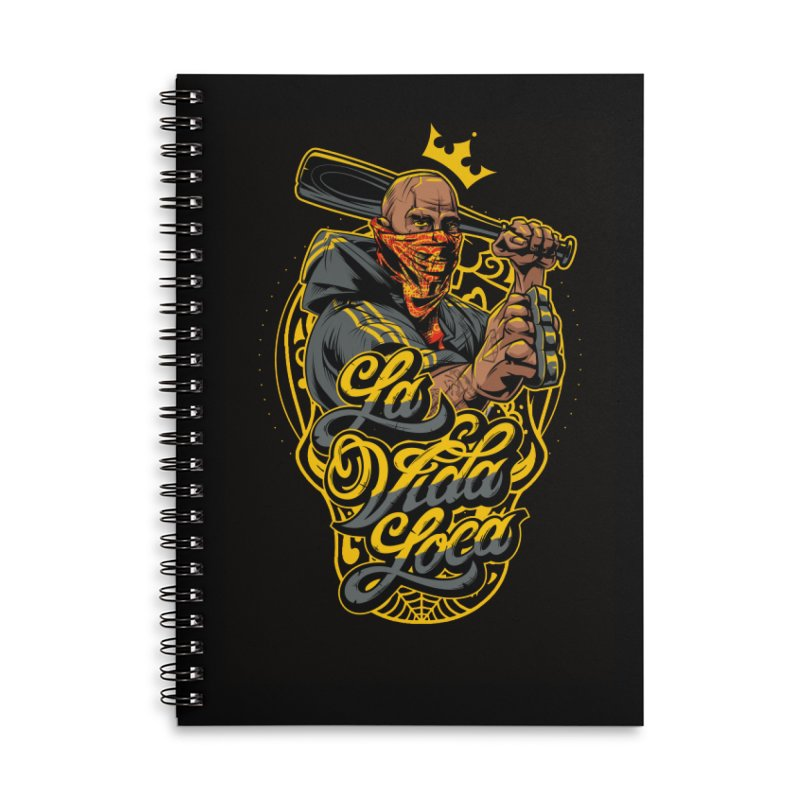 La vida Loca Accessories Notebook by fishark's Artist Shop