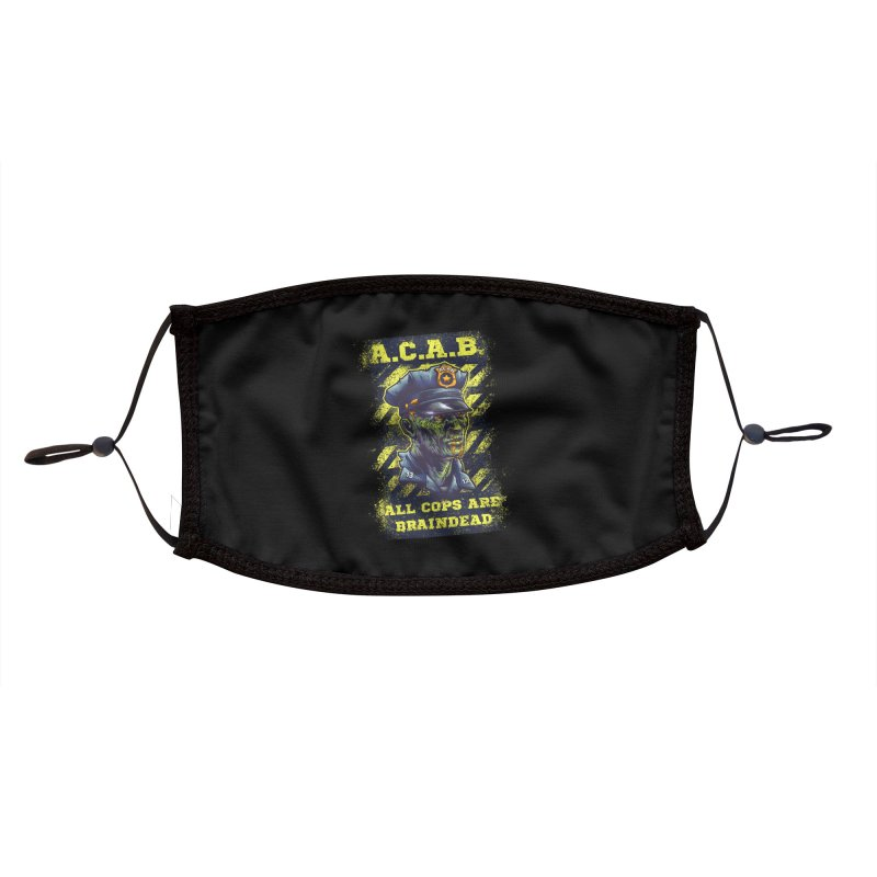 A.C.A.B. Accessories Face Mask by fishark's Artist Shop