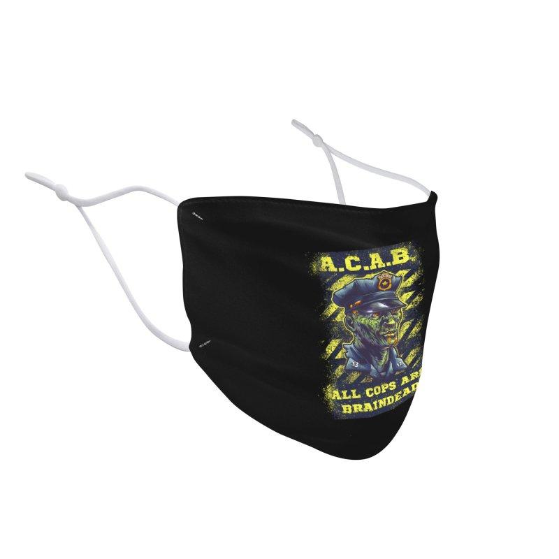 A.C.A.B. Accessories Face Mask by fishark's Artist Shop