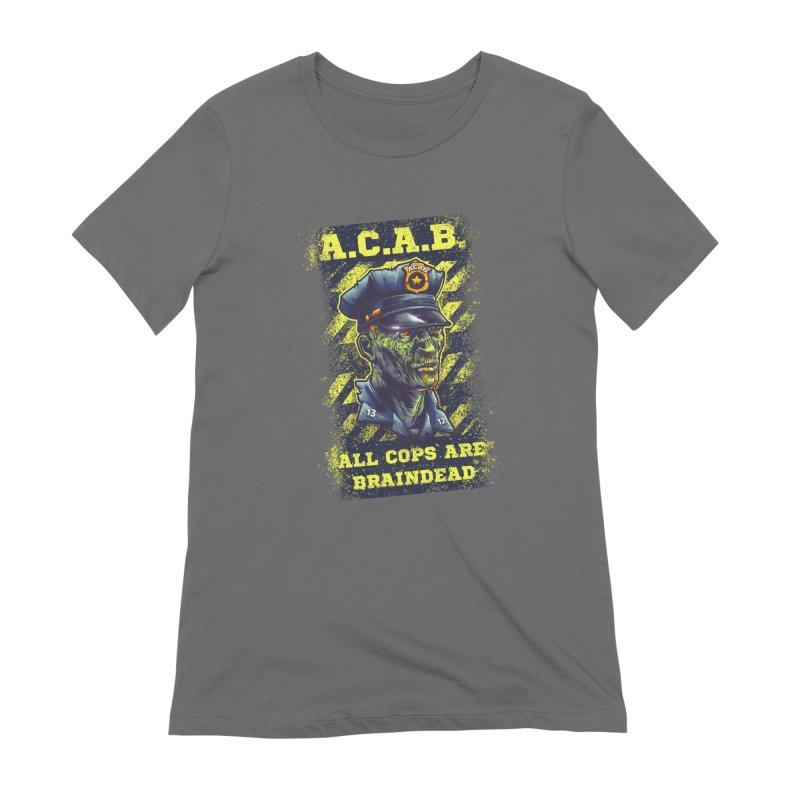 A.C.A.B. Women's T-Shirt by fishark's Artist Shop
