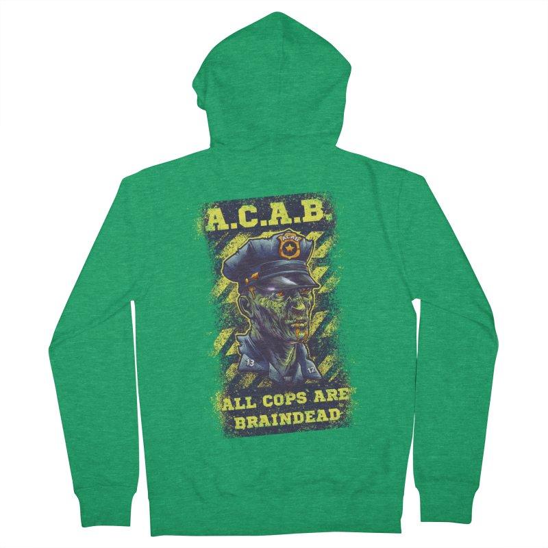 A.C.A.B. Women's Zip-Up Hoody by fishark's Artist Shop