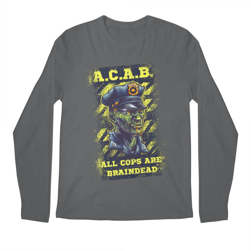 A.C.A.B. Men's Longsleeve T-Shirt by fishark's Artist Shop