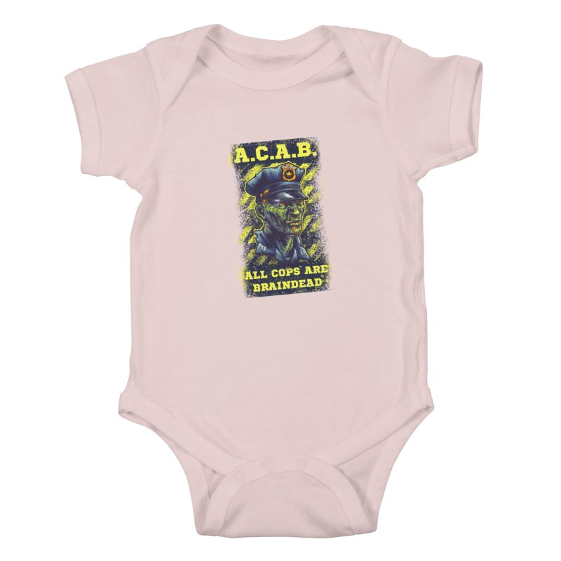 A.C.A.B. Kids Baby Bodysuit by fishark's Artist Shop